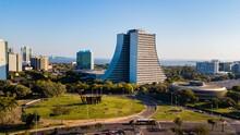 Porto Alegre RS - Aerial View Of The Praça Dos Açorianos And The Administrative Center Of Porto Alegre, Rio Grande Do Sul