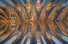 Vue De La Cathédrale D'Albi, Tarn, France.