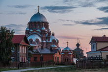 View Of The Sviyazhsky Assumption Monastery In Summer