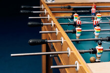 Part Of Vintage Table Football