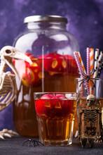 Halloween Drink Autumn Apple Cider