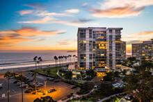 Coronado Beach And Downtown San Diego Views From Coronado Shores Condos