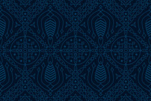 Seamless Geometric Patterns For Background, Carpet, Wallpaper, Clothing, Wrapping, Batik, Fabric And Etc.