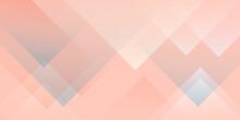 Abstract Modern Shapes. Orange Pastel Geometric Shapes. Creative Minimalist.