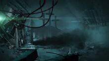 3d Illustration - Post Apocalyptic Scene From Radioactive Zone