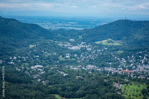Carta da parati Panoramalandschaft Baden-Baden, Deutschland