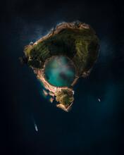 Azores Island Of Vila Franca Do Campo