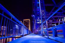 Main Street Bridge In Downtown Jacksonville, Florida