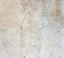 Tumbled Travertine Paving Tile Texture Seamless