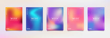 Gradation Background Set, Suitable For Background, Poster, Wallpaper, Cellphone Screen, Banner And Others