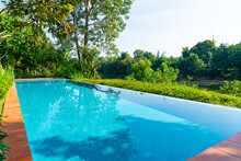 Swimming Pool In The Garden