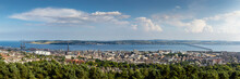 Dundee City Panoramic View From The Law