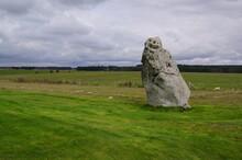 Stonehenge, Amesbury, Wiltshire (UK): Standing Stone Known As Heel Stone