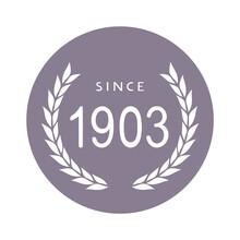 Since 1903 Year Symbol