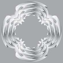 Design Element With Imitation Of Stone Carving