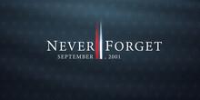 Patriot Day, September 11 Background, We Will Never Forget, United States Flag Posters, Modern Design Vector Illustration