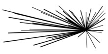 Dynamic, Eccentric Dynamic Comic Burst, Action Trail Lines. Explosion, Sparkle, Spark Element. Radial, Radiating Lines