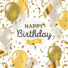 Happy Birthday To You Wish Background