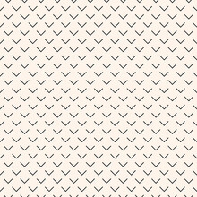 Monochrome Minimalistic Simple Pattern With Geometric Shape And Figure. Abstract Vector Pattern Design For Web Banner, Fabric Print, Wallpaper, Paper, Business Presentation, Branding Package.