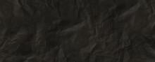 Dark Paper Texture Grunge Surface Crumpled Paper