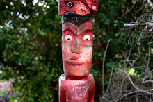 Historic Totem Maori Art