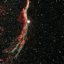 Heated Clouds Of Ionized Gas In The Veil Nebula