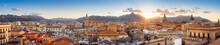 Panoramic View At The Old Town Of Palermo, Sicily