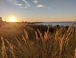 Leinwandbild Motiv Sonnenuntergang Ostsee