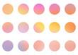 Zestaw kolorowych okładek highlights. Abstrakcyjne holograficzne gradientowe ikony dla social media. Piękne kolorowe tło lub elementy na blog.