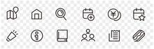 Web Website Shopping HP Icons Set