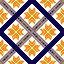 Oriental Ethnic Seamless Pattern Traditional Background Design For Carpet,wallpaper,clothing,wrapping,batik,fabric,embroidery Style.