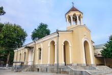 Armenian Apostolic Church Of The Holy Mother Of God In Samarkand, Uzbekistan. Built In 1903