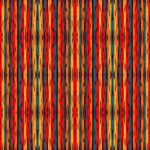 Blue Tie Dye Geometrical Seamless Pattern. Pink Stripes Japanese Watercolor Texture. Ikat Abstract Texture. Damask Shibori Traditional Vector Design. Batik.