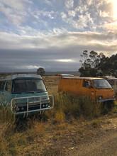 Derelict Camper Vans