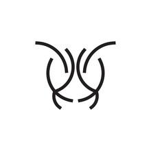 Ant Head Line Art Logo Design