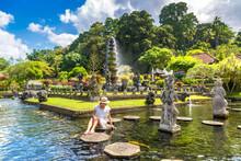 Taman Tirtagangga Temple, Bali