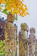 The Japanese Garden In Komyozenji Temple,Komyozen-ji Is A Zen Temple In Dazaifu, Fukuoka Prefecture.
