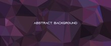 Abstract Triangle Geometric Low Poly Background Design Concept, Abstract Polygon Background Design Concept. Good For Background, Backdrop, Illustration, Wallpaper.