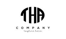 THA Three Letters Creative Circle Logo Design