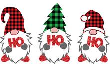 Ho Ho Ho Christmas Sublimation T Shirt Design
