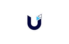 Logo U; Logotipo U; Logo, Vetor U; Marca U