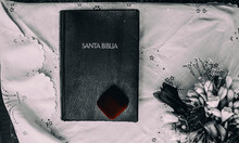 """Book With Title """"Santa Bible"""""""