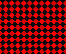 Red And Black Check Texture Background Seamless Pattern