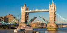 The Tower Bridge, London. Drawbridge Opening