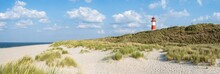 Lighthouse List Ost At The Dune Beach On The Island Of Sylt, Schleswig-Holstein, Germany