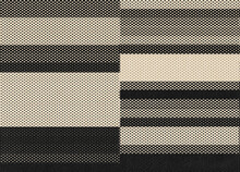 Black And White Halftone Composition