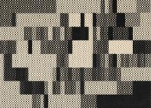Grey Halftone Composition