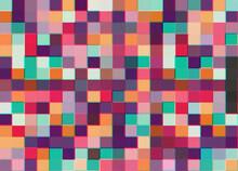 Time Machine Pixel Illustration
