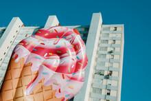 Ice Cream Cone In The City