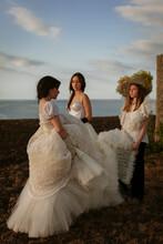 Three Young Brides